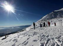 Vysoké Tatry, lyžovanie, lyžovacka,