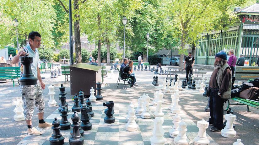 Ženeva, šach, migranti