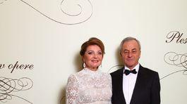 Andrej Glatz s manželkou