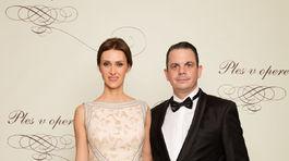 Herec a scenárista Dano Dangl s manželkou Beátou.