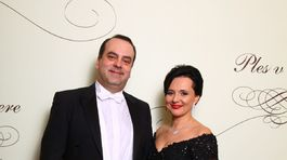 Herec Svetozár Malachovský s manželkou.