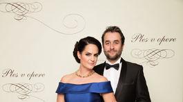 Herec Vlado Kobielsky s manželkou.