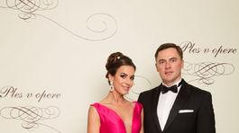 Herečka Lucia Hurajová s manželom.