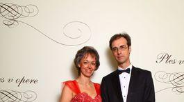 Ingrid Brucknerová s manželom