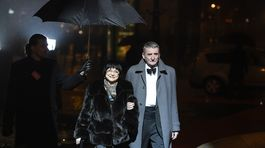 Martin Huba a jeho manželka Dagmar