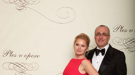Minister spravodlivosti Tomáš Borec s manželkou.