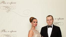 Podnikateľ Boris Kollár s partnerkou Andreou Heringhovou.