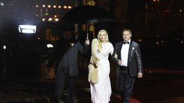 Riaditeľka Fashion TV Gabriela Drobová s partnerom Karolom Rumanom.