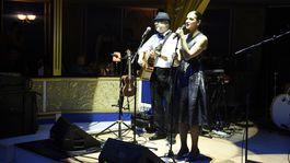 Speváčka Jana Kirschner zaspievala.