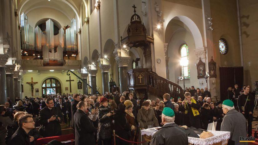 Anton Srholec, rozlúčka, Blumental, pohreb