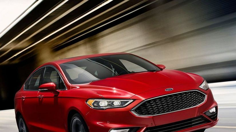 Ford Fusion V6 Sport - 2016