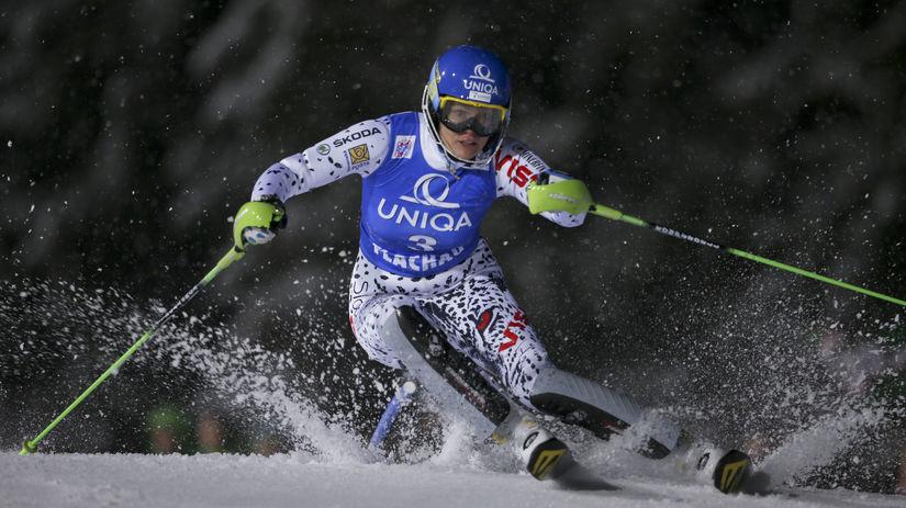 Veronika Velez Zuzulová, slalom, lyžovanie