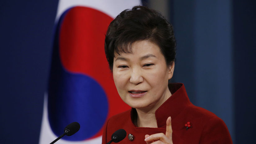 Južná Kórea, prezidentka, Pak Kun-Hje,