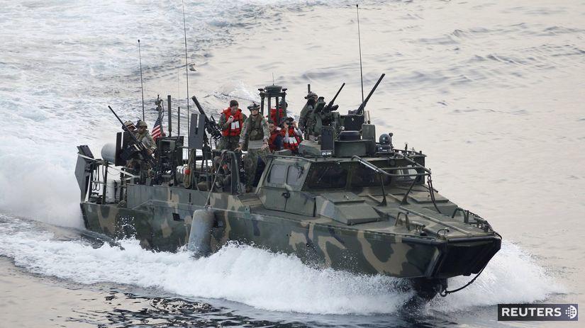Usa, námorníctvo, loď, čln
