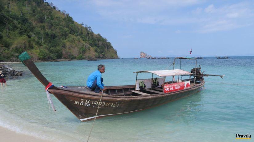 Krabi, ostrov, more, exotika, Thajsko, leto,...