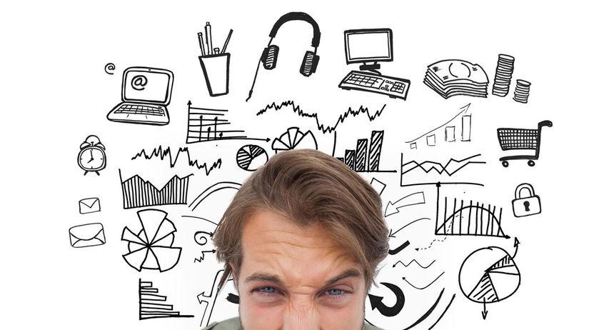 stres, nervozita, práca, prepracovanosť