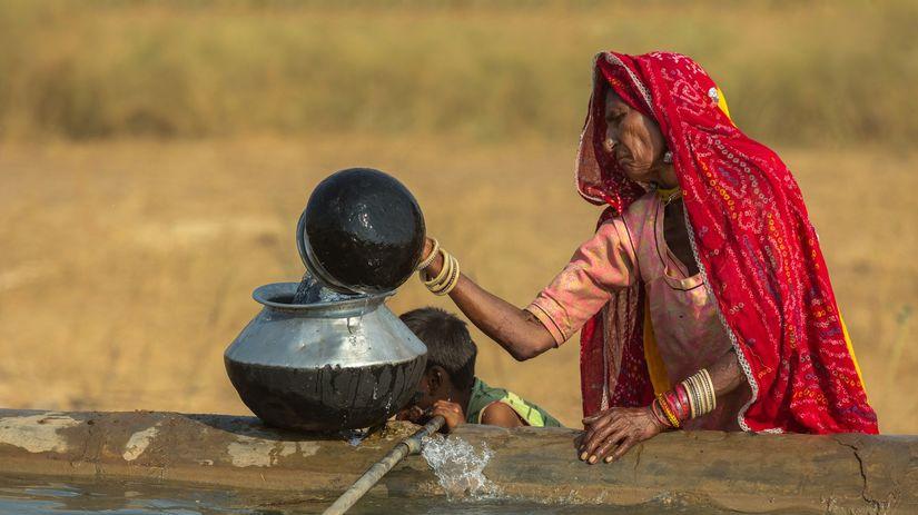 India, žena, ropa