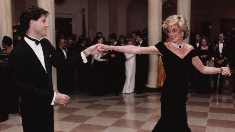 John Travolta a princezná Diana