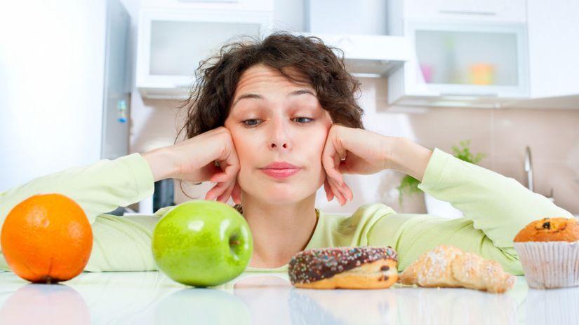 ovocie, cukor, diabetik, žena