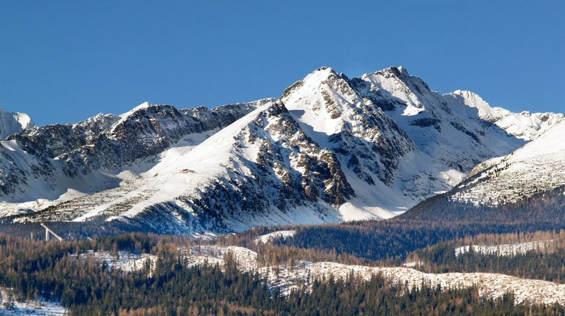 Tatry, hory, sneh