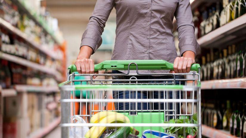 nákup, potraviny, jedlo