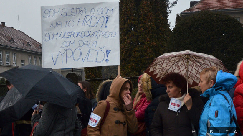 sestry, zdravotnístvo, štrajk