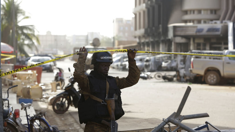 Burkina Faso, hotel, útok