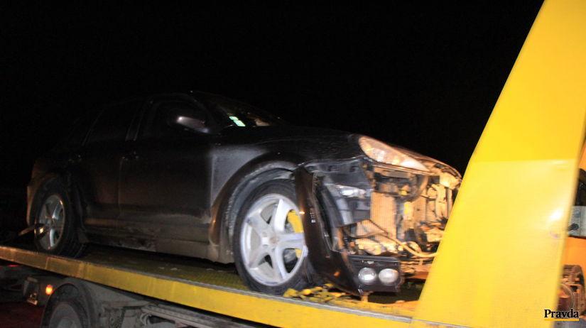 Ján Slota, autonehoda