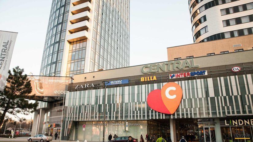 nakupne centrum central