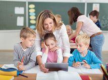 deti, škola, učiteľka, žiaci