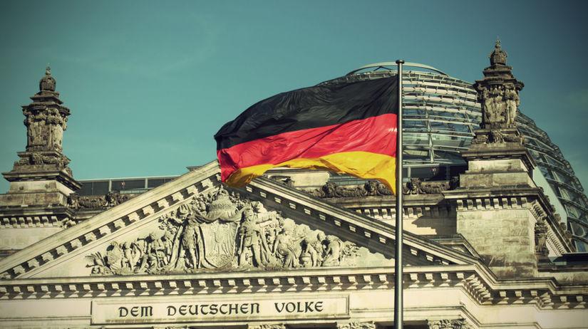 Nemecko, vlajka, Berlín, zástava, Bundestag,...