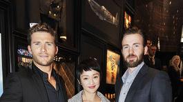 Scott Eastwood, Zhou Xun a Chris Evans