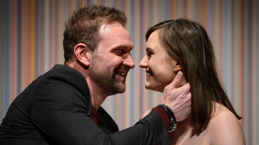 Tomáš Maštalír a Rebeka Poláková