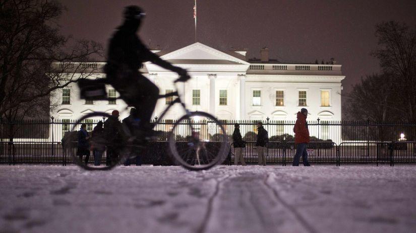 Washington, počasie, blizzard, sneh, kalamita