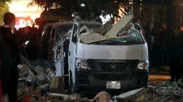 5ab0cfbef Pri výbuchu nálože v Káhire zahynulo deväť ľudí