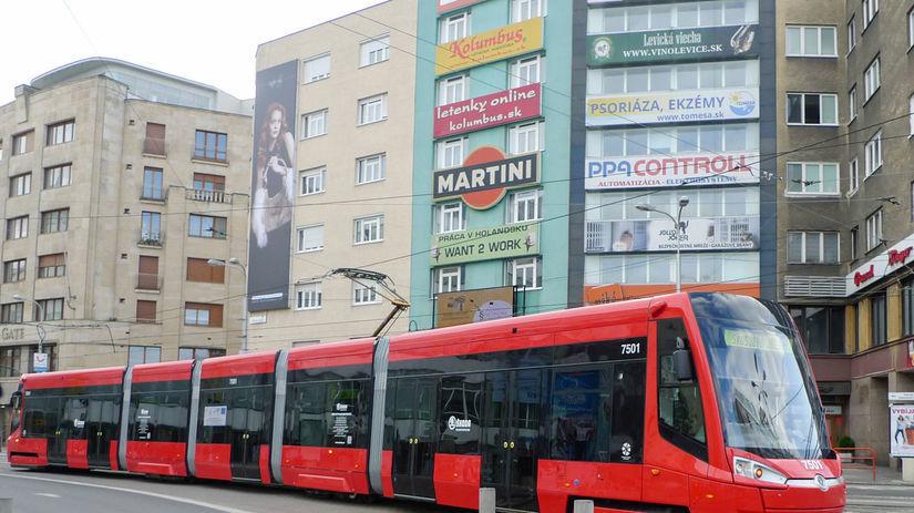 električka, Škoda, Bratislava