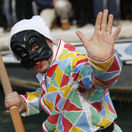 Benátky, karneval, masky, Námestie svätého Marka, Taliansko, kostýmy