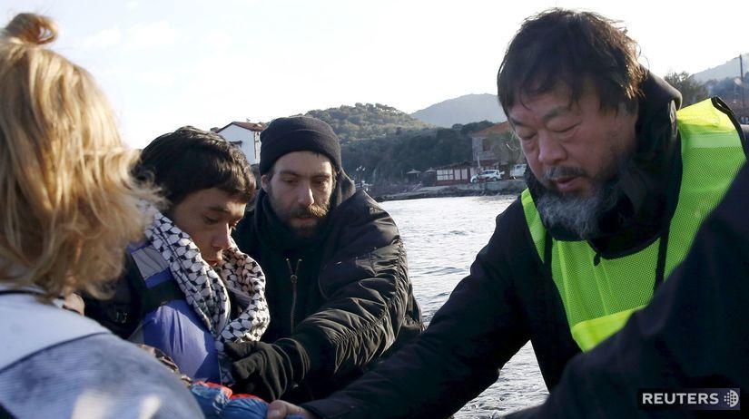 Aj Wej-wej, umelec, migranti