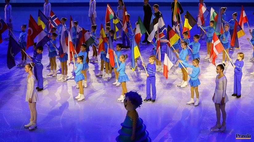 ceremoniál, ME 2016 v krasokorčuľovaní,...