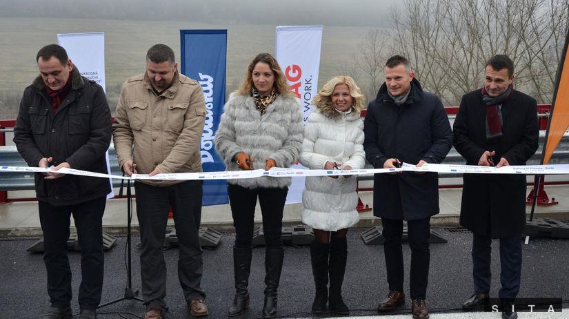 Otvorenie, dialnica, D1, Fručiovce, Prešov, Ján...