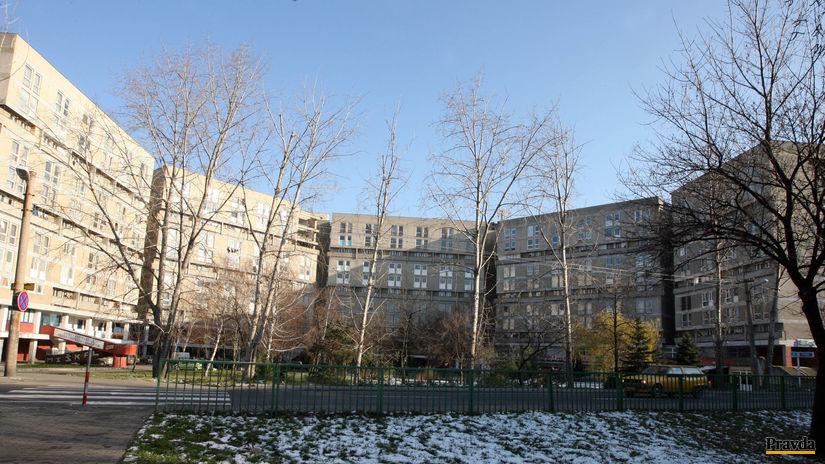 Bratislava , pentagon , vrakuna