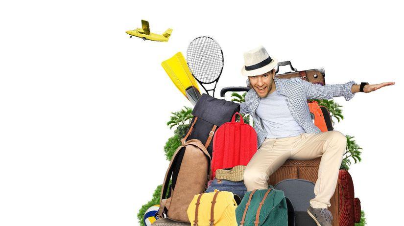 dovolenka, cestovanie, kufre, balenie,...
