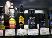 paprikový sprej, kaser