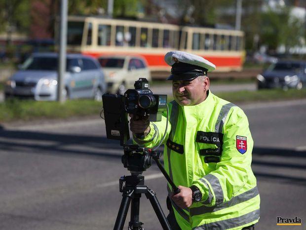 policia meranie rachlosti radar