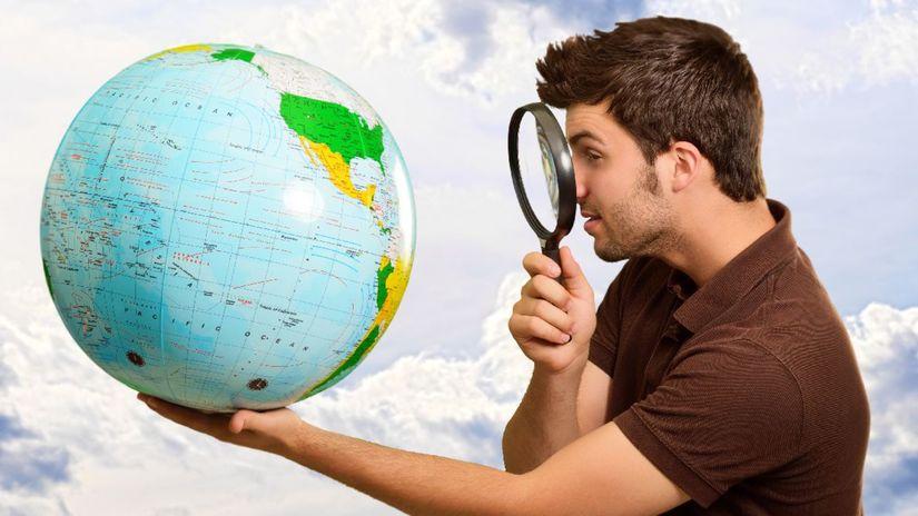 svet, lupa, cestovanie, zemeguľa, glóbus,...