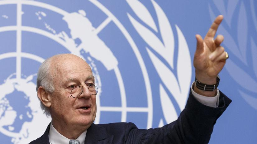 Staffan de Mistura, OSN