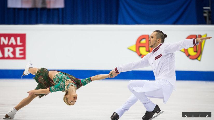 Tatiana Volosožarová a Maxim Traňkov