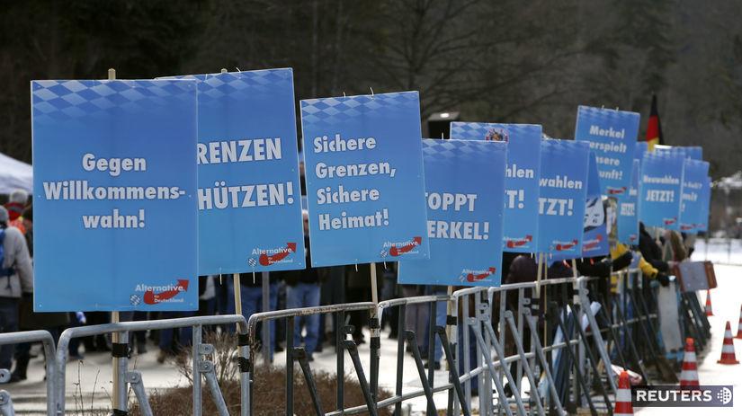 Alternatíva pre Nemecko, AFD, demonštrácia