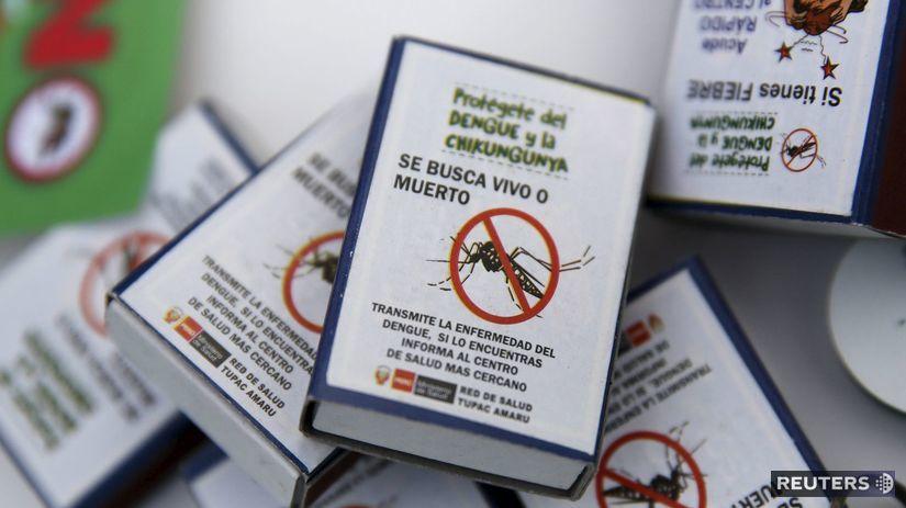 komár, varovanie, Zika