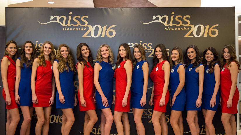 MISS SLOVENSKO 2016: Predstavenie finalistiek